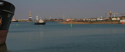 Проектирование и устанока временных ППЗ в затоне Чирчик порта Темрюк