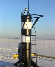 Установка портовых знаков ЗН СНО-3П